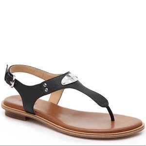 Michael Kors Leather Sandals (New)